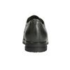 Kožené poltopánky s kovovými cvokmi bata, šedá, 526-9643 - 16