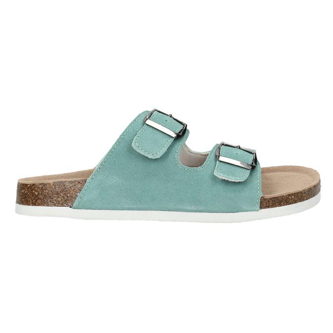 Modré kožené papuče de-fonseca, 573-7621 - 15