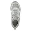 Strieborné dievčenské tenisky s kamienkami mini-b, šedá, 329-2295 - 26