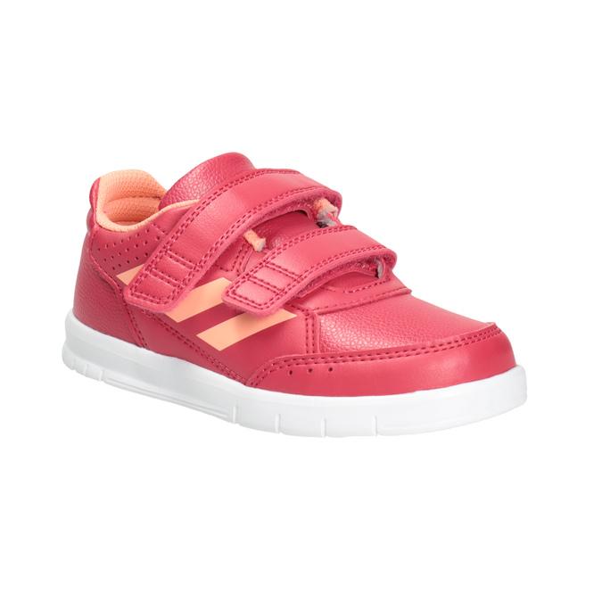 Detské tenisky na suchý zips adidas, ružová, 101-5161 - 13