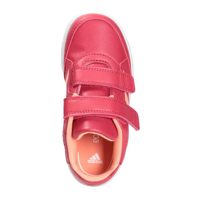 Detské tenisky na suchý zips adidas, ružová, 101-5161 - 15