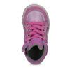 Dievčenská členková kožená obuv bubblegummers, ružová, 123-5601 - 17
