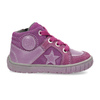 Dievčenská členková kožená obuv bubblegummers, ružová, 123-5601 - 19