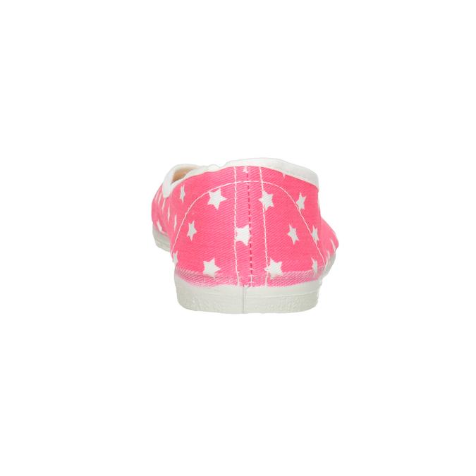 Detské cvičky s hviezdičkami bata, ružová, 379-5217 - 16