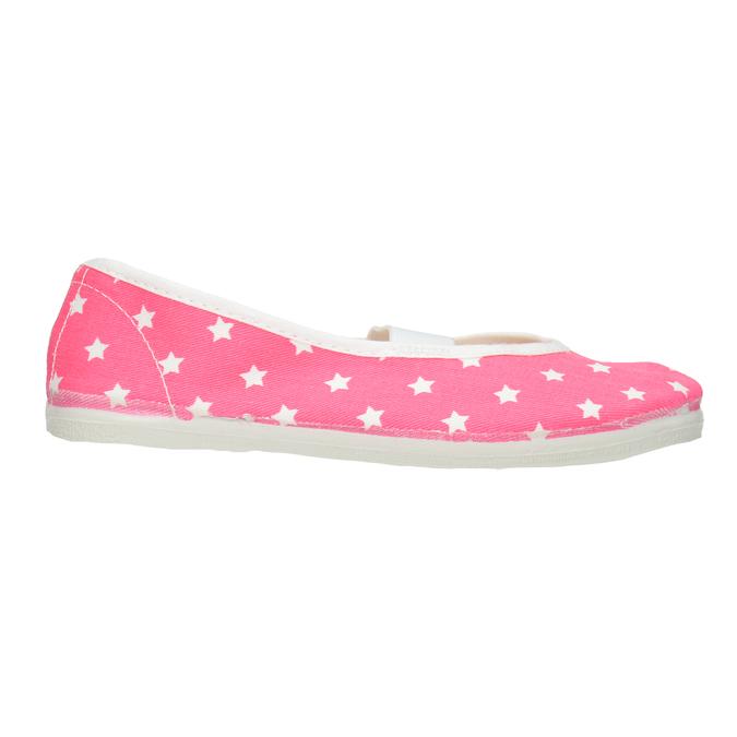 Detské cvičky s hviezdičkami bata, ružová, 379-5217 - 26
