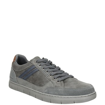 Pánske šedé tenisky north-star, šedá, 841-2607 - 13