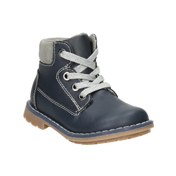 Kožená detská obuv bubblegummers, modrá, 114-9610 - 13