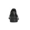 Dámske kožené poltopánky s prešívaním bata, čierna, 524-6661 - 15