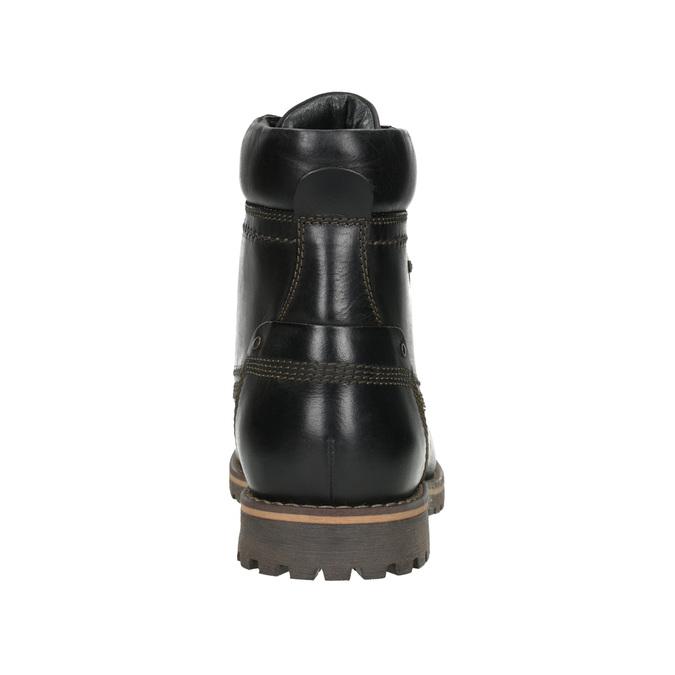 Pánska zimná obuv bata, čierna, 896-6640 - 16