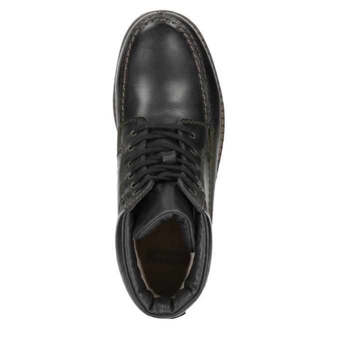 Pánska zimná obuv bata, čierna, 896-6640 - 15