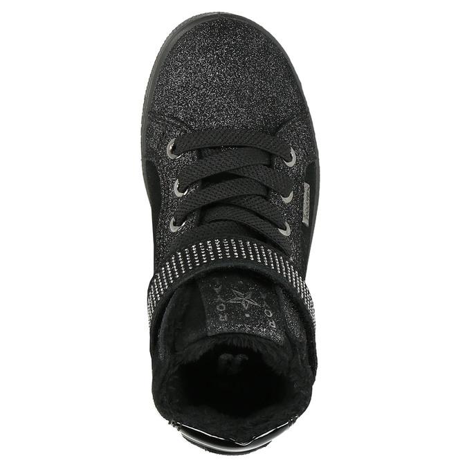 Členkové detské tenisky mini-b, čierna, 323-6172 - 26