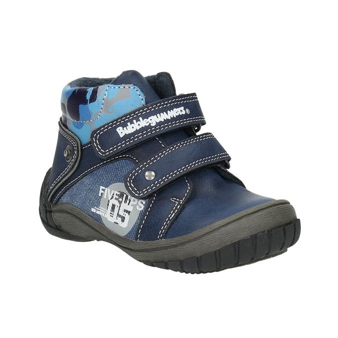 Členková chlapčenská obuv bubblegummers, modrá, 111-9618 - 13