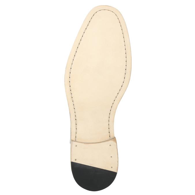 Celokožené Oxford poltopánky bata, čierna, 824-6414 - 19