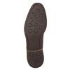 Hnedé pánske kožené poltopánky bata, hnedá, 826-4681 - 19