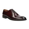 Pánske kožené Oxford poltopánky bata, červená, 826-5683 - 13