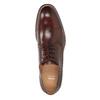 Hnedé pánske kožené poltopánky bata, hnedá, 826-4681 - 17