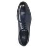 Pánske kožené Derby poltopánky bata, modrá, 826-9682 - 26