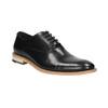 Celokožené Oxford poltopánky bata, čierna, 824-6414 - 13