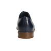 Modré kožené poltopánky bata, modrá, 826-9680 - 17