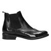 Dámska kožená Chelsea obuv bata, čierna, 594-6638 - 15