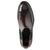 Kožená obuv v štýle Chelsea bata, červená, 594-5638 - 19