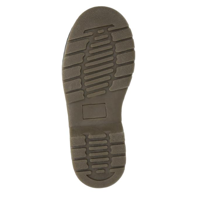 Detská členková obuv s kamienkami mini-b, čierna, 321-6611 - 26
