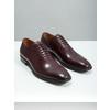 Pánske kožené Oxford poltopánky bata, červená, 826-5683 - 18