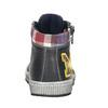 Detská kožená členková obuv bubblegummers, šedá, 114-2603 - 16