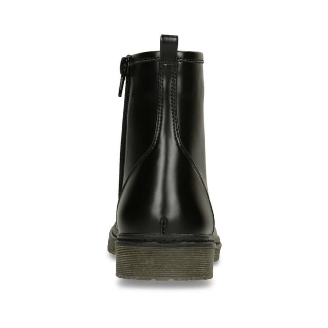 Šnurovacia detská obuv mini-b, čierna, 391-6407 - 15
