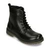 Šnurovacia detská obuv mini-b, čierna, 391-6407 - 13