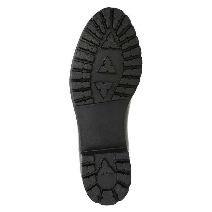 Lakované dámske gumáky bata, čierna, 592-6400 - 17