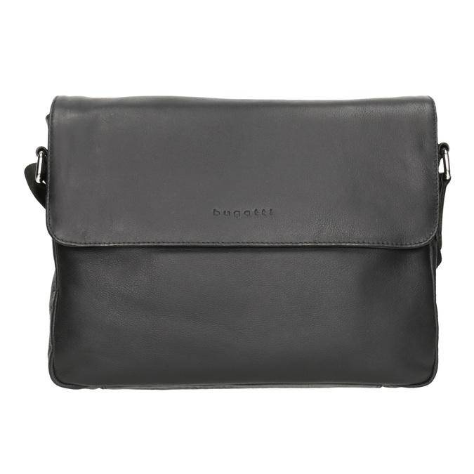 Čierna kožená Crossbody taška bugatti-bags, čierna, 964-6011 - 26