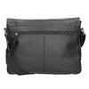 Čierna kožená Crossbody taška bugatti-bags, čierna, 964-6011 - 16