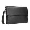 Čierna kožená Crossbody taška bugatti-bags, čierna, 964-6011 - 13