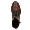 Dámska členková obuv so zipsom bata, hnedá, 596-3681 - 15
