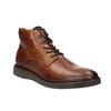 Kožená členková obuv bata, hnedá, 896-3675 - 13