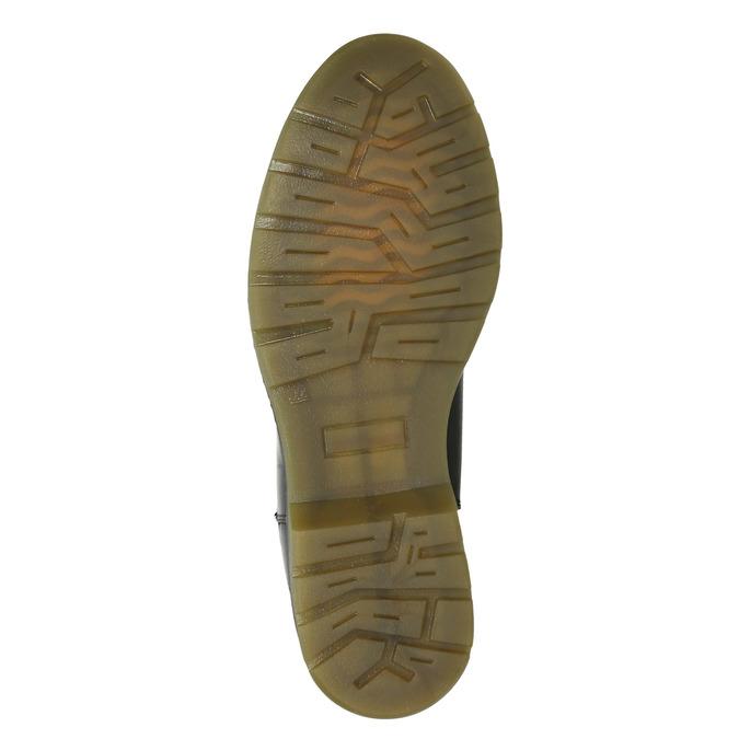 Kožená dámská Chelsea obuv bata, čierna, 594-6680 - 17