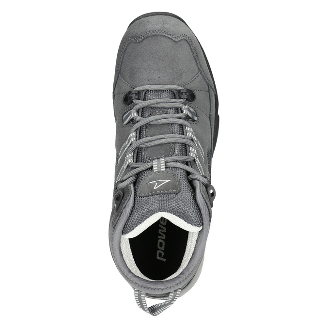 Kožená členková obuv v Outdoor štýle power, šedá, 503-2232 - 15