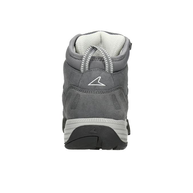 Kožená členková obuv v Outdoor štýle power, šedá, 503-2232 - 16