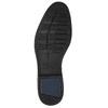 Modré kožené pánske poltopánky bata, modrá, 826-9914 - 19