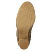 Hnedé čižmy na podpätku bata, hnedá, 799-3613 - 19