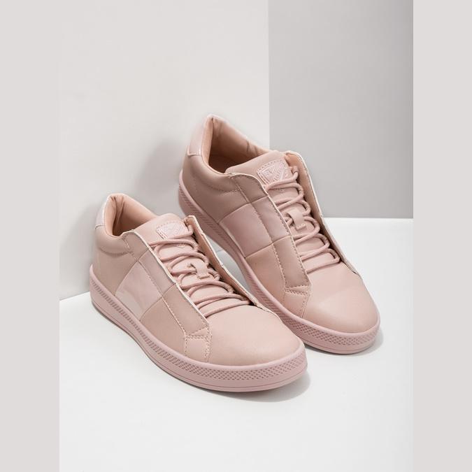 Ružové dámske tenisky atletico, ružová, 501-5171 - 18