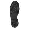 Pánska členková obuv bata, čierna, 896-6664 - 19