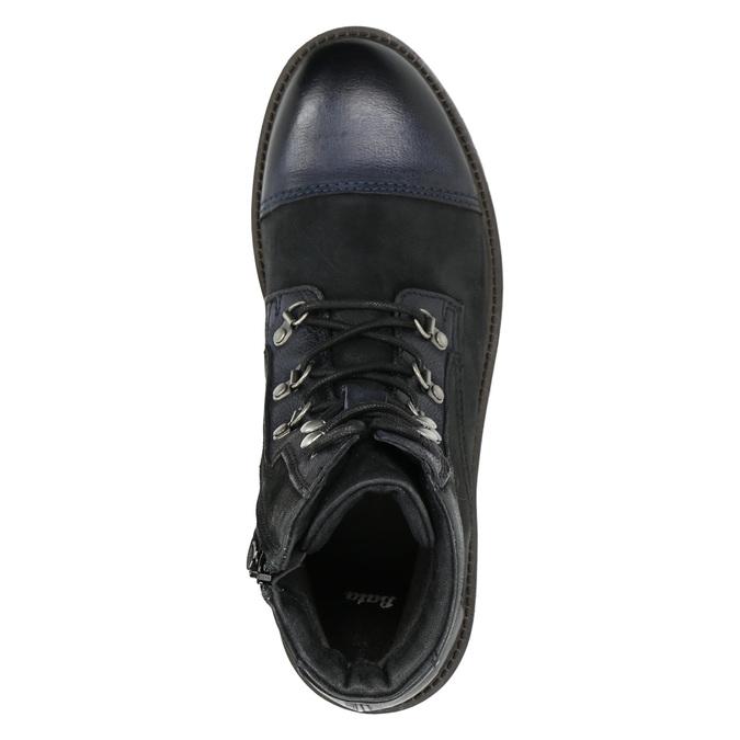 Pánska členková obuv bata, čierna, 896-6664 - 26