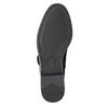 Dámske čižmy nad kolená bata, čierna, 599-6616 - 19