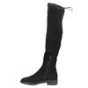 Dámske čižmy nad kolená bata, čierna, 599-6616 - 26