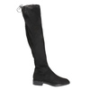 Dámske čižmy nad kolená bata, čierna, 599-6616 - 15