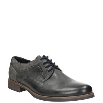 Pánske ležérne poltopánky bata, šedá, 826-2610 - 13