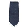 Sada kravaty, vreckovky a manžetových gombíkov n-ties, modrá, 999-9298 - 26