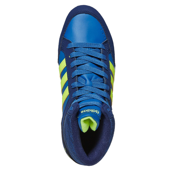 Detské členkové tenisky adidas, modrá, 401-9291 - 19